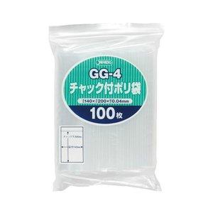 新発売の (まとめ) ジャパックス GG-4 チャック付ポリ袋 ヨコ140×タテ200×厚み0.04mm GG-4 1パック(100枚)【×30セット】 店舗用品 1パック(100枚) (まとめ) PP袋 チャック袋, QQ-SMART:eb5c71f3 --- 5613dcaibao.eu.org