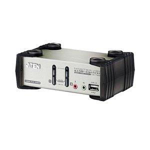 超特価SALE開催! ATEN 2ポートデュアルインターフェース対応 USB2.0KVMPスイッチ OSD機能付 CS1732B 1台, オガタマチ 34f22685