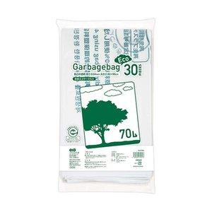【ギフト】 (まとめ)TANOSEE リサイクルポリ袋(エコデザイン)乳白半透明 70L 1パック(30枚)【×10セット】, 自転車プローウォカティオ 85399675