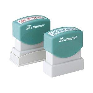 大特価!! (まとめ) シヤチハタ (TEL済) Xスタンパー ビジネス用B型 (TEL済) Xスタンパー ヨコ 赤 XBN-103H2 XBN-103H2 1個【×10セット】 手になじむソフトグリップのスタンパー。様々なビジネスシーンで活躍します。, Cliff Edge:cd4c28ab --- prodelox.se