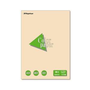 ー品販売  (まとめ) 長門屋商店 Color Paper B4 厚口 アイボリー ナ-2315 1冊(100枚) 【×10セット】, 手芸の店mam 85ac953e