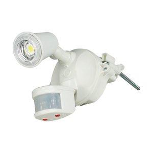 多様な 日動工業 LEDセンサーライトクラブアイ 10W SLS-CE10W-1P 1台, North feel b6121601
