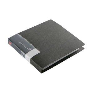 定番  (まとめ) バッファローCD&DVDファイルケース ブックタイプ ブックタイプ 12枚収納 ブラック BSCD01F12BK 1個 ブラック【×50セット 1個】 ブックタイプのCD&DVDファイルケース, 頓原町:08e64099 --- abizad.eu.org