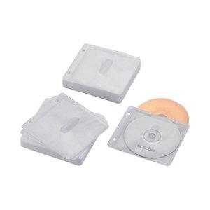 【在庫処分大特価!!】 (まとめ) エレコム BD・DVD・CD追加用ポケットCCD-NBWB120WH【×10セット】, レスタープラス 77e84ccd