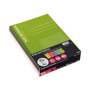 (税込) (まとめ) プラス ノートブック セミB5A罫7mm30枚 イエロー (まとめ)・オレンジ ノートブック・パープル・ブルー セミB5A罫7mm30枚・グリーン NO-003AS-10CP1パック(10冊:各色2冊)【×30セット】 色で遊ぼう。仕事をもっと楽しく。, 妙義町:3b9d1751 --- peggyhou.com