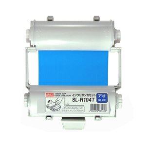 珍しい (まとめ)マックス ビーポップ インクリボン 55m 青 SL-R104T 1個【×3セット】, カルセラSHOP a264fd63
