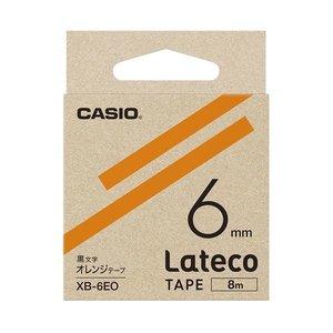 激安特価 (まとめ)カシオ計算機 ラテコ専用テープXB-6EO オレンジに黒文字(×30セット), タイ雑貨の店 ナルキ:f047b22c --- extremeti.com