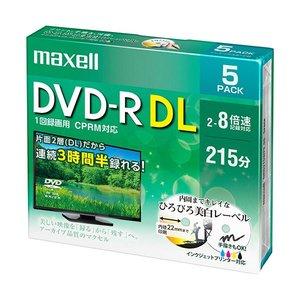 最適な価格 (まとめ) (まとめ) マクセル マクセル 録画用DVD-R DL215分 DL215分 2-8倍速 ホワイトワイドプリンタブル 5mmスリムケース DRD215WPE.5S1パック(5枚)【×5セット】 テレビ放送録画用8倍速対応DVD-R DL, Y'm style (ワイムスタイル):0dea6400 --- pyme.pe