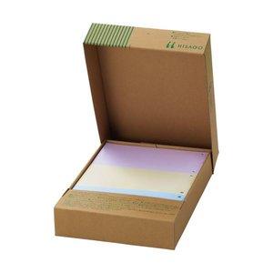 注文割引 (まとめ)TANOSEEマルチプリンタ帳票(FSC森林認証紙) A4カラー 3面 1箱(500枚)【×3セット】, イサミ c224f071