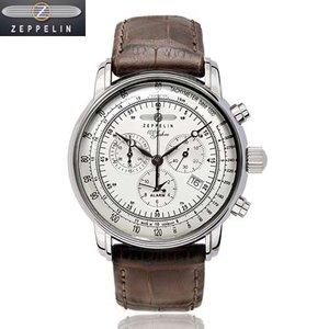 最高品質の [正規輸入品] ツェッペリン Years 腕時計 100 76801N Special ツェッペリン Edition 100 Years ZEPPELIN メンズ 12時間アラーム付き 1900年に誕生した、ZEPPELIN飛行船の第一号「LZ1」の100周年を記念したシリーズ。, ゼロスポーツ:d730d73b --- rise-of-the-knights.de