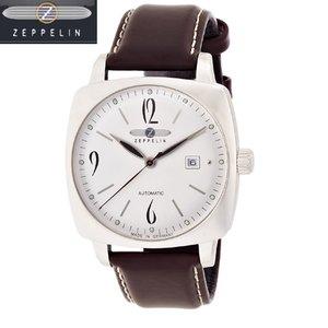 豪奢な ツェッペリン シルバー ZEPPELIN 腕時計 77504 自動巻き メディテラネ MEDITERRANEE シルバー 77504 メンズ 自動巻き【正規輸入品】 メンズウオッチ 第一次世界大戦が終了した1910年代に流行していたクッションケースのデザインが特徴です。, 通販天国:43fea321 --- swiftkartz.lk