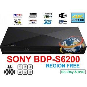 【国内発送】 SONY DVD DVD ブルーレイ ブルーレイ プレーヤー BDP-S6200 リージョンフリーBD プレーヤー/DVDプレーヤー HDMIケーブル付 並行輸入品, リーブス革鞄店:8636038e --- oraworld.co.uk