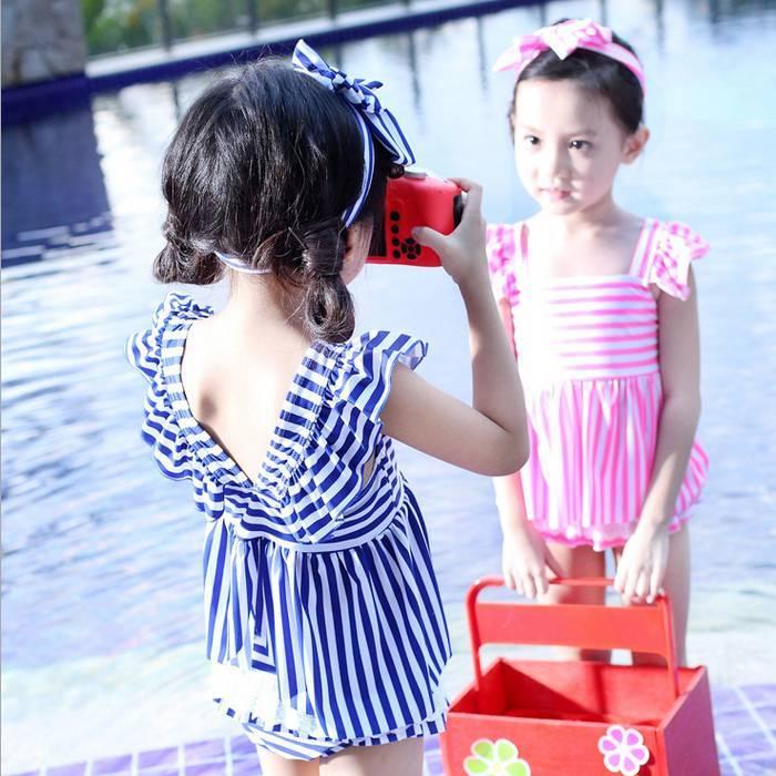 cadcd441e36 水着女の子子供こども女児スイムウェ- OLIVIA - 日本露天