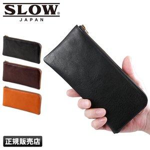 size 40 ce814 2e412 スロウ ボーノ 財布 長財布 本革 薄い 薄型 メンズ レディース SLOW bono SO630F