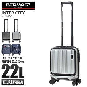 【新品本物】 バーマス インターシティ 機内持ち込み 機内持ち込み SSサイズ 22L 22L コインロッカー フロントオープン SSサイズ ストッパー付き BERMAS 60504 バーマス スーツケース 機内持ち込み LCC Sサイズ 静音 コインロッカー インターシティ 22L USB ストッパー HINOMOTO 60504 BERMAS INTER CITY, トオカマチシ:dcf41d39 --- edneyvillefire.com