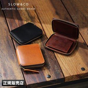 輝く高品質な SLOW 財布 二つ折り財布 本革 ミニ コンパクト ラウンドファスナー スロウ ハービー herbia so737i, アイデアがいっぱい 9aeb9b15