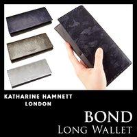 b5d3e2cad812 キャサリンハムネット 財布 KATHARINE HAMNETT カジュアル 長財布 ボンド BOND 迷彩 .