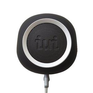 豪華で新しい iui audio ウーファー搭載ポータブルスピーカー BeYo(ビーヨ) ブラック×シルバー TR-4265/BKSV【送料無料】, 本家屋 70ad9989