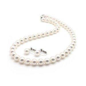 品質は非常に良い 【鑑別書付】あこや真珠 オーロラ花珠真珠ネックレスセット パールネックレスイヤリングセット 8.0‐8.5mm珠 あこや真珠の中でも最も上質な真珠と言われるオーロラ花珠真珠セット, パーツランドBANZAI:59b1cd11 --- chalet-panoramablick.de