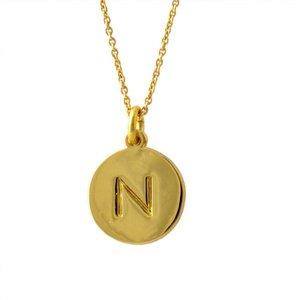 高品質の人気 Kate in Spade(ケイトスペード) Gold WBRU7658-711 Gold one in a million a イニシャル 「N」 ペンダント ネックレス【】, 自転車通販 F-select:994b5c3f --- pyme.pe