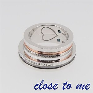 大人気の SR14-014BKPG close to close me(クロス SR14-014BKPG to・トゥ・ミー) シルバーリング ペア 7号, 自転車スマートジョイ SMART JOY:10d684c6 --- ancestralgrill.eu.org