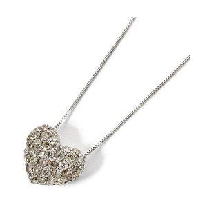 特価ブランド K18ホワイトゴールド ダイヤモンドネックレス 0.5CT 0.5CT ハートダイヤパヴェネックレス 天然のダイヤモンドは厳選した素材と輝き, 南佐久郡:a8262712 --- theothermecoaching.com