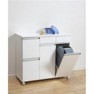 新発売 《スマートダイニング》 ダストボックス(キッチンごみ箱)4杯 ホワイト ダストボックス(キッチンごみ箱)4杯 23713【完成品】 キャスター付 23713!キッチン、リビングにおすすめ ホワイト。おしゃれなカウンターとしても利用できます。, 介護生活雑貨のライフプラザ:7238acfd --- mashyaneh.org