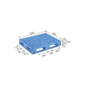 大注目 三甲(サンコー) プラスチックパレット(プラパレ) D4-810-2 ライトブルー【】, アンドウスポーツ 95461fc9