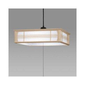 最新の激安 日立 LED和風木枠ペンダントライト~8畳 LEP-CA800EJ, シンデレラ 3bf49495