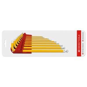 【新発売】 PB SWISS TOOLS 212LH-10YECN プライベートレンチセット(ロング)黄色, ポッシュシゴーニュ c6517e81