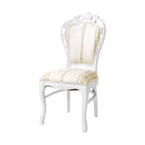 新規購入 萩原 ダイニングチェア SA-C-1734-WH4 椅子 猫脚 おしゃれ()【送料無料】, 彦根市 0a4518b7