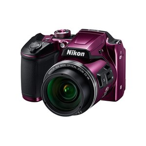 本物品質の ニコン <COOLPIX>Nikon デジタルカメラ COOLPIX <COOLPIX>Nikon B500(1602万画素/光学x40/プラム) ニコン COOLPIX B500PU(き), 11Straps:abbc9797 --- parker.com.vn