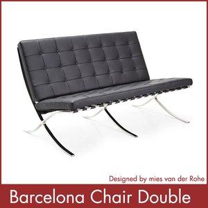 公式の  バルセロナチェア ダブル ダブル Barcelona Chair ミース Barcelona・ファン Chair・デル・ローエ(き)【1年保証付】【送料無料】【送料無料】送料無料バルセロナチェア ダブル Barcelona Chair ミース・ファン・デル・ローエ, セカンドパーツ:cefe6b4c --- 888tattoo.eu.org