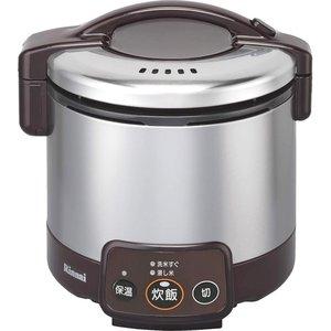 【超歓迎された】 リンナイ 3合 13A用) 電子ジャー付ガス炊飯器(都市ガス RR-030VM(DB) 13A用) 3合 RR-030VM(DB) ダークブラウン(), ニシアワクラソン:1f719d2c --- pyme.pe