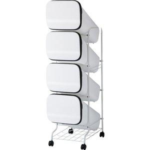 新品本物 スムース スタンドダストボックス 19L×4個 GBBH003 スムース ホワイト 19L×4個 ホワイト リス(), ARTPHERE(アートフィアー)E-SHOP:29ec4c2d --- peggyhou.com