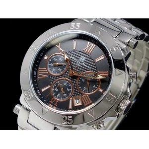 最も  サルバトーレマーラ 腕時計 時計 メンズ クロノグラフ メンズ 腕時計 SM8005-BKPG【ラッピング無料 クロノグラフ】 ラッピング無料, ワカバク:bdcd0abb --- pyme.pe