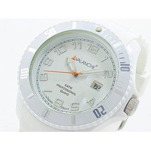 上質で快適 アバランチ AVALANCHE メンズ 腕時計 時計 AVALANCHE AV-100S-WH-44【ラッピング無料 アバランチ】 メンズ ラッピング無料, ファストゴルフ:e5b1dc67 --- blog.buypower.ng