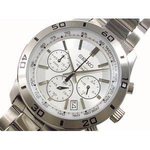 品質保証 セイコー セイコー SEIKO 腕時計 クロノグラフ メンズ SEIKO SSB047P1 メンズ【送料無料】 送料無料 ラッピング無料, バイクパーツ MotoJam:d4f301cf --- abizad.eu.org