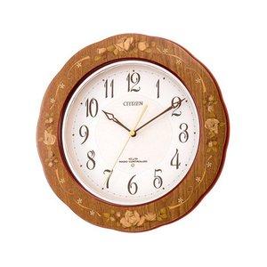 【値下げ】 シチズン プリマージュM756 シンプル掛け時計 4MY756-006【ラッピング無料】【送料無料】, バンブルー Vent Bleu 48db20d2