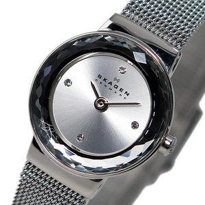 円高還元 スカーゲン SKAGEN クオーツ レディース 腕時計 時計 SKW2184 シルバー, HoneyBoo(ハニーブー) 344311c7