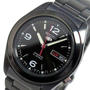 新しいコレクション セイコー セイコーファイブ 自動巻き メンズ 腕時計 時計 SNKM79J1 ブラック, 小川町 943f37e0