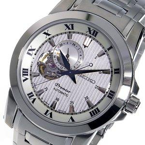【予約】 セイコー プルミエ プルミエ 自動巻き 自動巻き SSA275J1 メンズ 腕時計 SSA275J1 シルバー【送料無料】【送料無料】【ラッピング無料】, 制服マート:9b9c5e01 --- oknalegko.ru