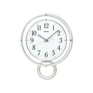 【新発売】 セイコー SEIKO 電波 振り子時計 掛け時計 PH205W ホワイト, TCEダイレクト a3257ae2
