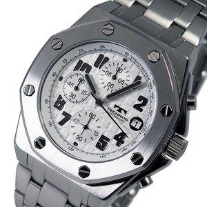 史上最も激安 テクノス TECHNOS クオーツ メンズ クロノ 腕時計 時計 T4393SW ホワイト, ずっと気になってた dd696da9