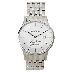 高品質の激安 ジャックルマン ケビンコスナーモデル クオーツ メンズ 腕時計 時計 11-1781F-1 クオーツ ホワイト【ラッピング無料 11-1781F-1 メンズ】, サクマチョウ:d1703ad3 --- deutscher-offizier-verein.de