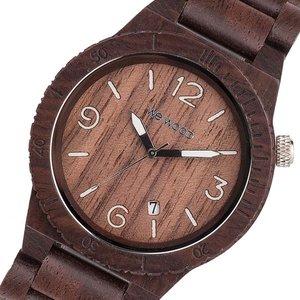 送料無料 ウィーウッド WEWOOD 木製 メンズ 腕時計 時計 ALPHA-CHOCOLATE チョコ 国内正規, ナガサキシ 5c266168