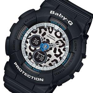 史上一番安い カシオ ベビーG レオパード レディース 腕時計 時計 BA-120LP-1AJF ブラック 国内正規, 和寒町 0653aa5c