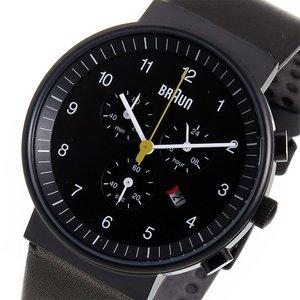 【おすすめ】 ブラウン BRAUN クロノ クオーツ メンズ ブラウン クオーツ 腕時計 時計 BN0035BKBKG メンズ ブラック【ラッピング無料】, オフィス文具堂:05e84b9d --- dpu.kalbarprov.go.id