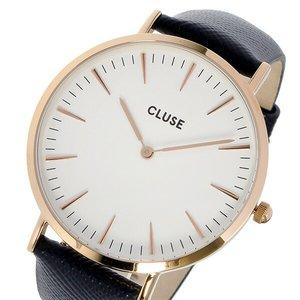 【500円引きクーポン】 クルース クルース CLUSE ラ・ボエーム CL18029 レザーベルト 38mm 腕時計 レディース 腕時計 時計 CL18029 ホワイト/ブラック【ラッピング無料】, グッズ& うちわ 専門店ファンクリ:d8697c02 --- abizad.eu.org