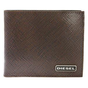 【保証書付】 ディーゼル DIESEL 二つ折り 短財布 メンズ X03344-P0517-H6028 ブラウン, ミハルマチ 0374e5fb